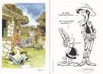Deux exemples d'ex-libris : hommages à Uderzo par Meynet et Achdé