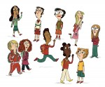 Tous Super-héros les élèves