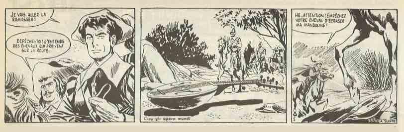 « La Casaque noire » parues en 1956 dans L'Aurore.