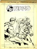 Dessin original pour une couverture de Pépito.