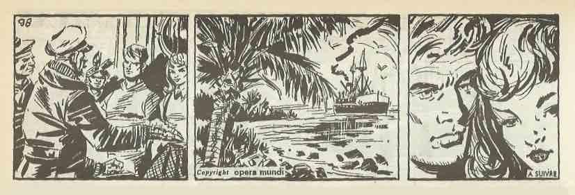« Les Voleurs de foudre » d'après Paul d'ivii, illustré par José Laffond, entre 1964 et 1965.