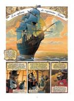 Les débuts d'une aventure graphique : deuxième planche du tome 1 (Delcourt 2009)