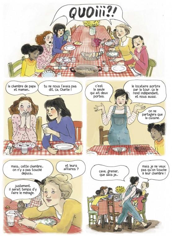 bande dessinee 4 soeurs