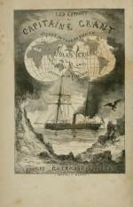 Page de titre des Enfants du Capitaine Grant par J. Verne