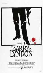 Une source d'inspiration : l'affiche du film Barry Lyndon (S. Kubrick, 1975). Ce design célèbre a été réalisé par les Français Guy Jouineau et Guy Bourduge.