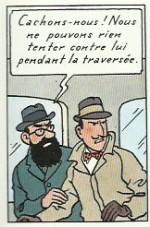 « L'Île noire » édition de 1965, page 7.