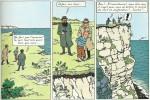 « L'Île noire » édition de 1965, page 8.