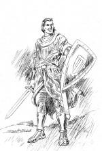 « El Capitán Trueno » vu par Joan Boix aujourd'hui, sur son blog http://joanboix-art.blogspot.fr/.
