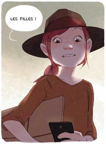 Cerise au smartphone
