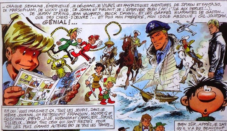 « La Galerie-des illustres » dans Spirou.