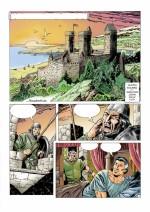 Planche originale de « El Capitán Trueno »  dans « El Ultimo Combate ».