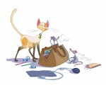 Enola t2 le chat Maneki