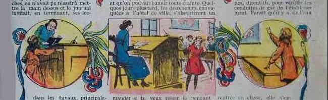 « L'Espiègle Lili » par René Giffey, en 1928.