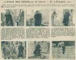 « L'Aigle des Andes » de Jo Valle et André Vallet dans L'Intrépide (1912).