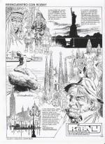 Page inédite de « Robny, el vagabundo » réalisée pour séduire les éditeurs européens.