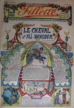Watt- 1913-n-235-le-cheval-d-ali-mansour-maroc-seigneur-rancon-modeles-de-robes