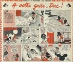 Un extrait d'un « Mickey à travers les siècles » par Pierre Nicolas et Pierre Fallot.