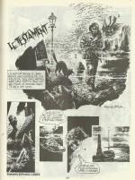 « Le Testament » dans le n° 29 de Fantastik, en 1985.