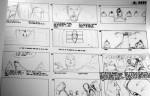 Story-boards de Jean Giraud, alias Moebius.