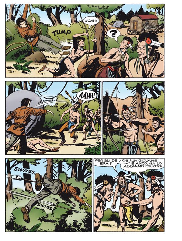 « Zagor : Il re di Darkwood » par Guido Nolitta et Gallieno Ferri.