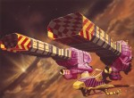 Dessins de Chris Foss pour Dune