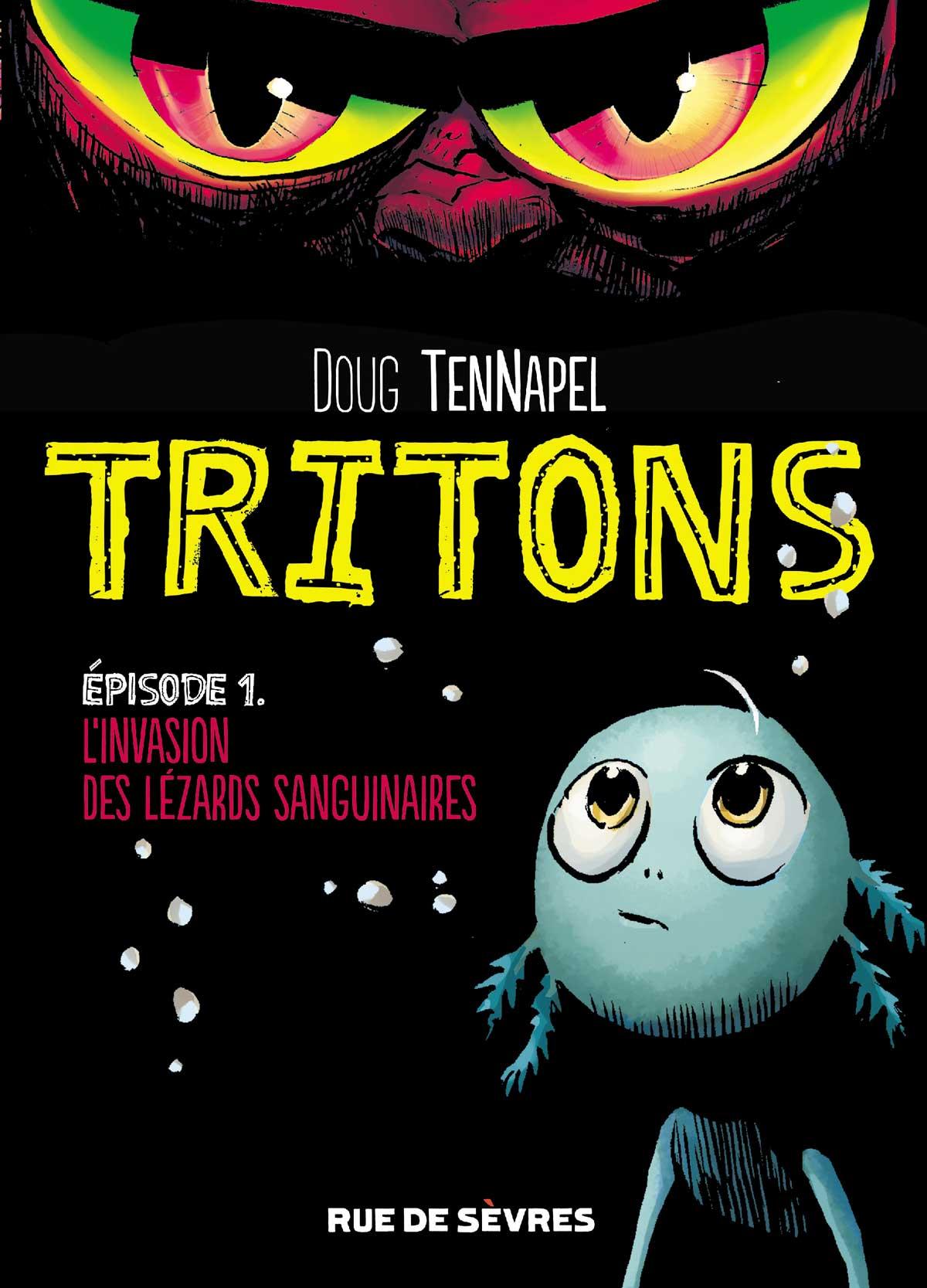 Couverture Tritons T1