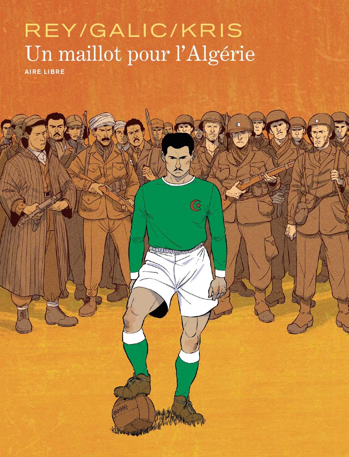 """Résultat de recherche d'images pour """"bd un maillot pour l'algérie"""""""