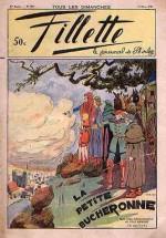 Couverture de Calvo au n°1617 de Fillette, en mars 1939.