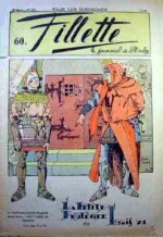 Couverture de Jobbé Duval au n°1673 de Fillette, en avril 1940.