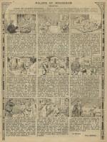 « Palote et Rougeaud » d'André Galland, dans le n°383 de Fillette, en juillet 1915.