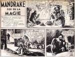 « Mandrake le magicien » dans Robinson, en 1936.