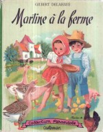 Premier album de « Martine » en 1954, dans la collection Farandole.