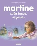 Martine et les lapins du jardin