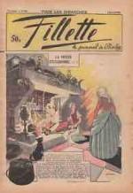 Couverture de Calvo au n°1607 de Fillette, en janvier 1939.