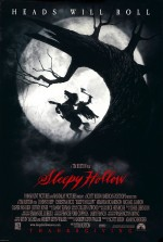Affiche US de Sleepy Hollow (T. Burton, 1999)