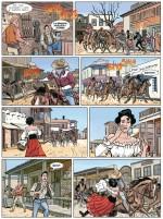 Un extrait de  « Tex : Painted Desert » par Angelo Stano et Mauro Boselli.