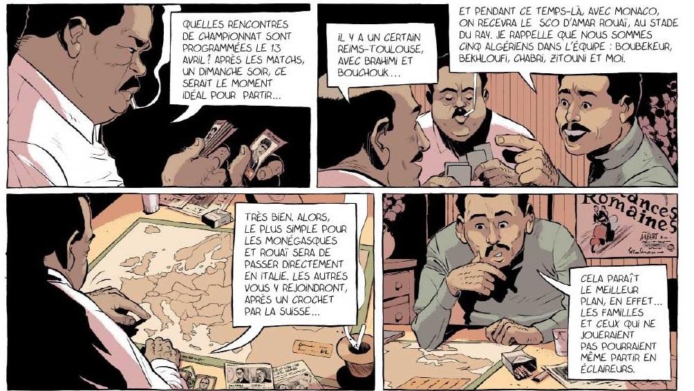 Un maillot pour l'Algérie haut de la  page 24