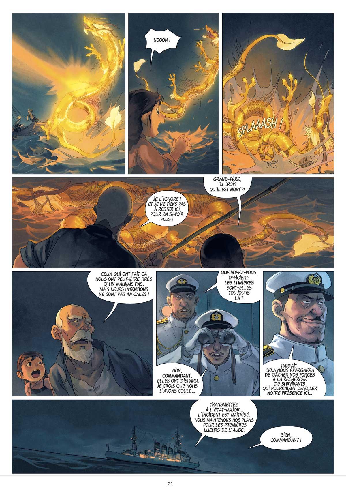 Yin et le dragon page 21