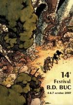 Affiche pour le festival de Buc en 2007