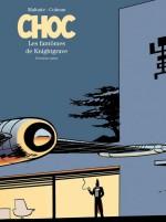 """"""" Choc"""" T2, tirage de tête limité à 1 000 exemplaires, enrichi d'un dessin inédit d'Éric Maltaite signé par les deux auteurs"""