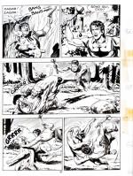 Une page originale de « Zagor » par Gallieno Ferri.