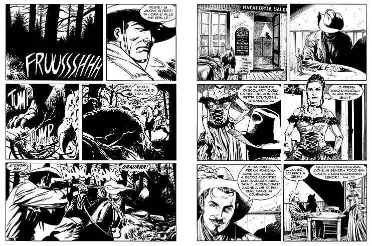 « Tex Willer » par Mauro Boselli et Alessandro Bocci.