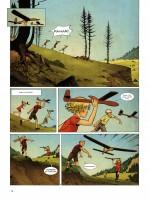 L'envol d'une amitié (extrait de Dents d'ours t.1, p.12 - Dupuis 2013)