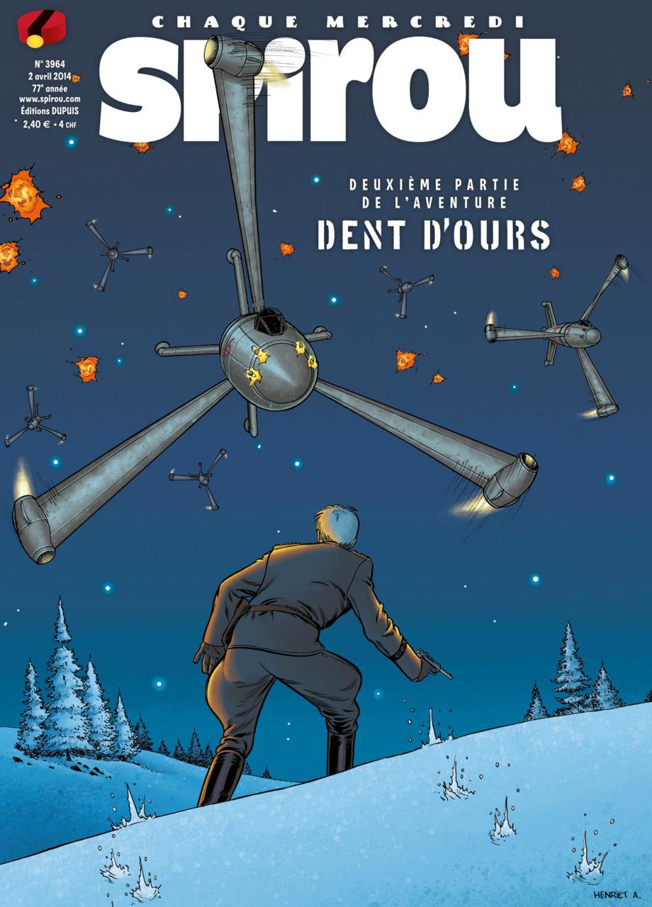 Des armes nouvelles ! (Spirou n°3964, 2 avril 2014)