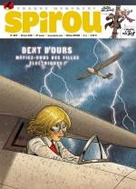Démarrage de la prépublication du tome 3 dans Spirou n°4014 (18 mars 2015)