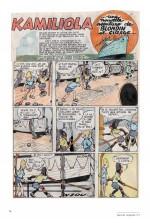 L'original de la première page en couleurs de « Kamiliola ».