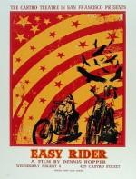 Deux références visuelles pour la couverture : affiches pour Easy Rider et Bonnie & Clyde