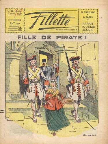Fille de pirate