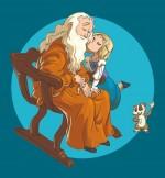 Léonard de Vinci  et Zoé