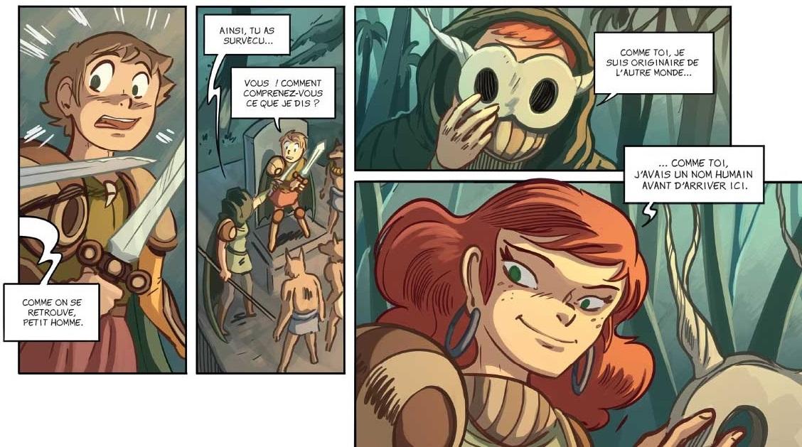La Famille fantastique bas de la  page 37